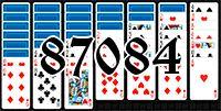 Пасьянс №87084