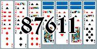Пасьянс №87611