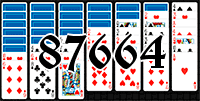 Пасьянс №87664