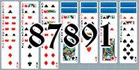 Пасьянс №87891