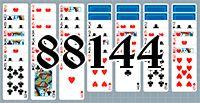 Пасьянс №88144
