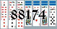 Пасьянс №88174