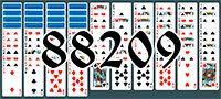 Пасьянс №88209