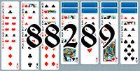 Пасьянс №88289