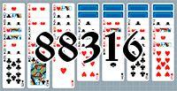 Пасьянс №88316