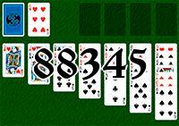Пасьянс №88345