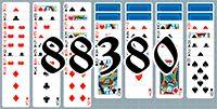 Пасьянс №88380