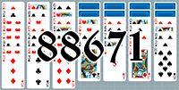 Пасьянс №88671