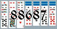 Пасьянс №88687
