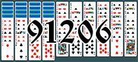 Пасьянс №91206