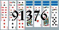 Пасьянс №91376