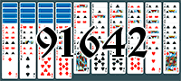 Пасьянс №91642