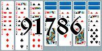 Пасьянс №91786