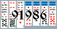 Пасьянс №91986