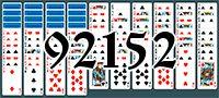 Пасьянс №92152