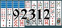 Пасьянс №92312