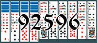 Пасьянс №92596