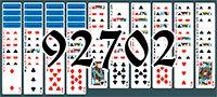 Пасьянс №92702