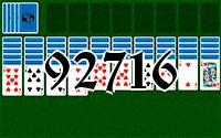 Пасьянс №92716