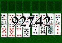 Пасьянс №92742