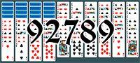 Пасьянс №92789