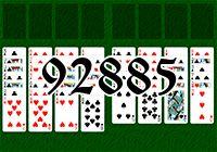 Пасьянс №92885