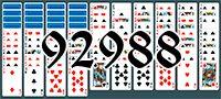 Пасьянс №92988