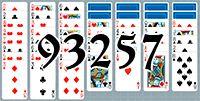 Пасьянс №93257