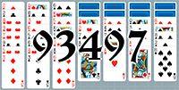 Пасьянс №93497