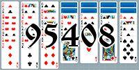 Пасьянс №95408