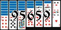Пасьянс №95659