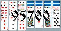 Пасьянс №95700
