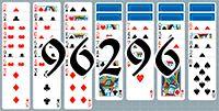 Пасьянс №96296
