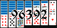 Пасьянс №96392