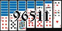 Пасьянс №96511