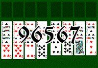 Пасьянс №96567