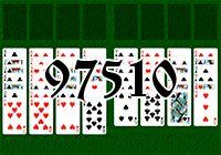 Пасьянс №97510