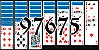 Пасьянс №97675
