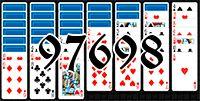 Пасьянс №97698