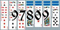 Пасьянс №97809