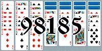 Пасьянс №98185