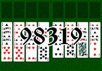 Пасьянс №98319