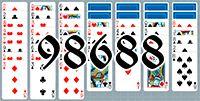 Пасьянс №98688