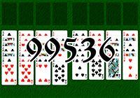 Пасьянс №99536