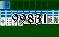 Пасьянс №99831