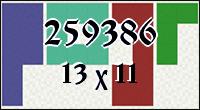 Полимино №259386