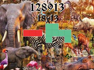 Пазл полимино №128913