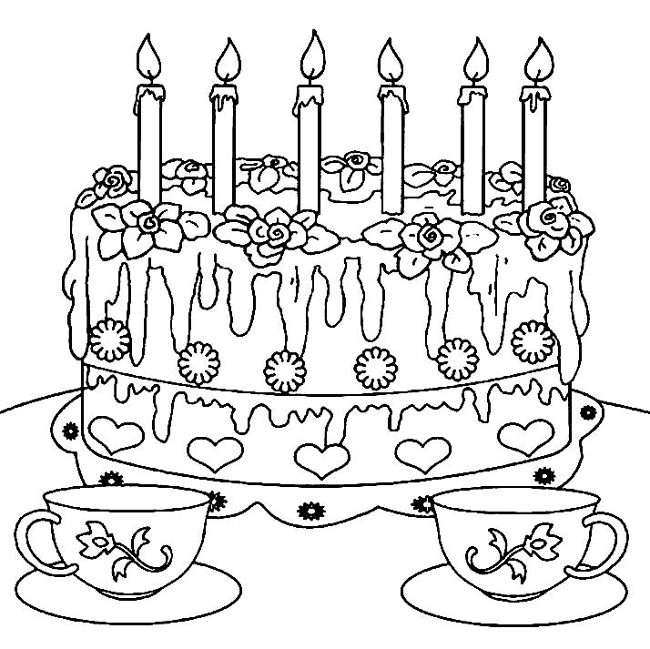 Раскраска на день рождения бабушке 59 лет, ягодки открытка