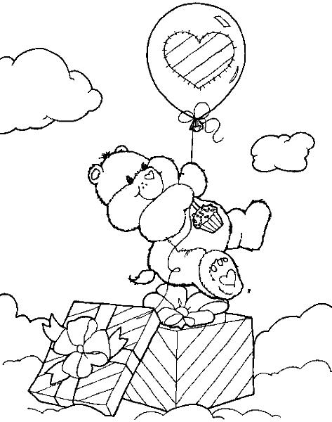Раскраска «Мишка». №98518