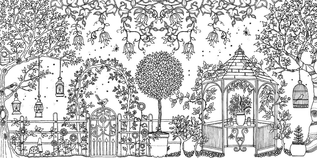 рисунок волшебный сад медицинских целей